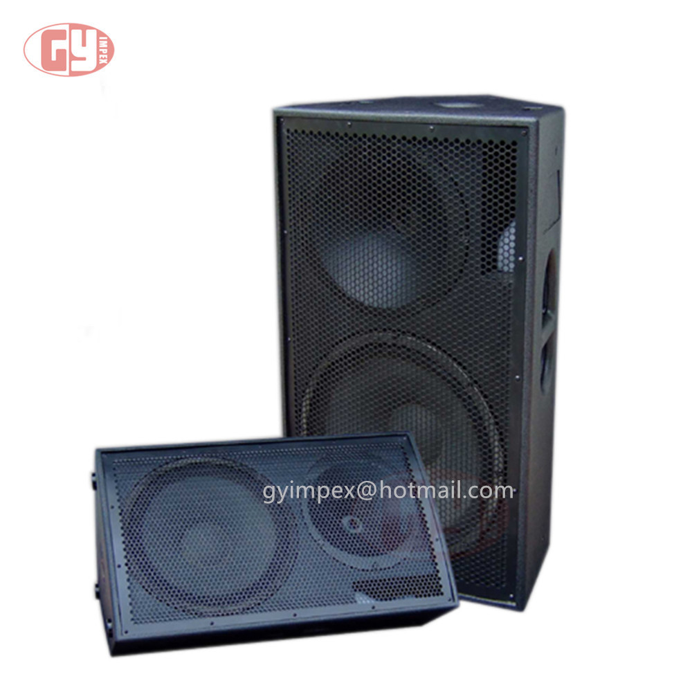 LA-215 speaker and sound system plywood speaker boxes