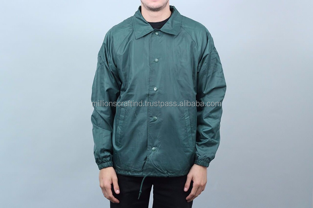 Fashioned Professional Manufacture Crane ski nylon coaches jacket