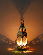 antique candle holders ramadan lantern iron table lamp for arabic decoration