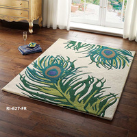 high quality eco friendly Wool Rug and carpet for home decore