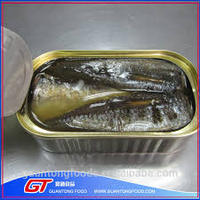 Wholesale 125g Canned Sardine Fish in Sunflower Oil