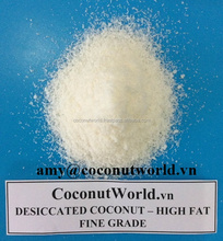NEW CROP DESICCATED COCONUT- FINE GRADE AND MEDIUM GRADE