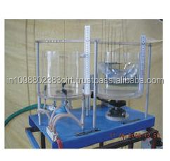 Free & Forced Vortex Apparatus Fluid Mechanics lab test rig Technical teaching equipment