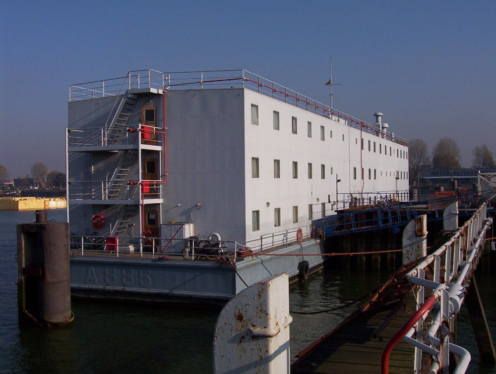 Accommodation Barge for sale