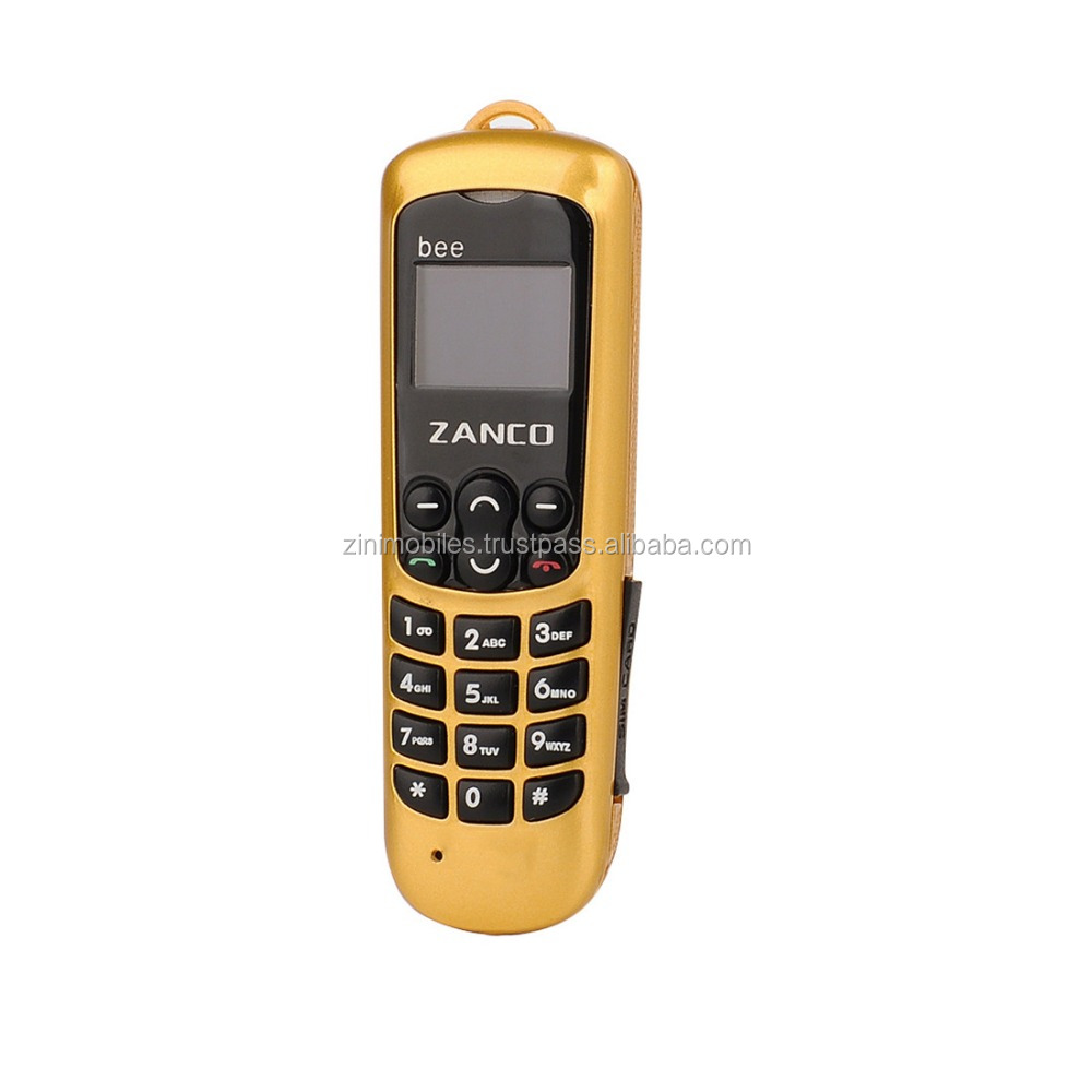 Top selling smallest uk brand mobile phone ZANCO bee phone