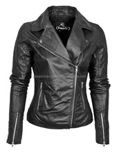 Genuine Leather Jackets / biker jacket / racer jacket, 2016