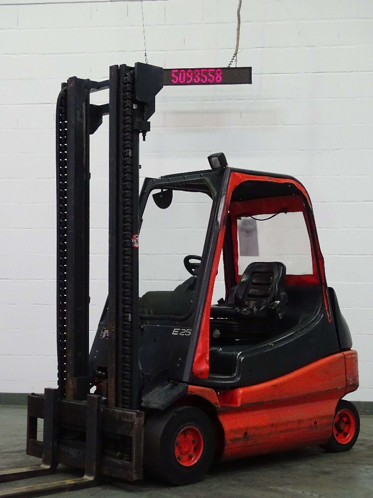 Used Forklift LINDE E25-01 | Electric 4 wheel truck