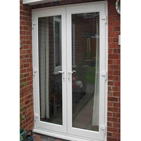 Indian Exporter Polywood White World Class Openable UPVC Doors
