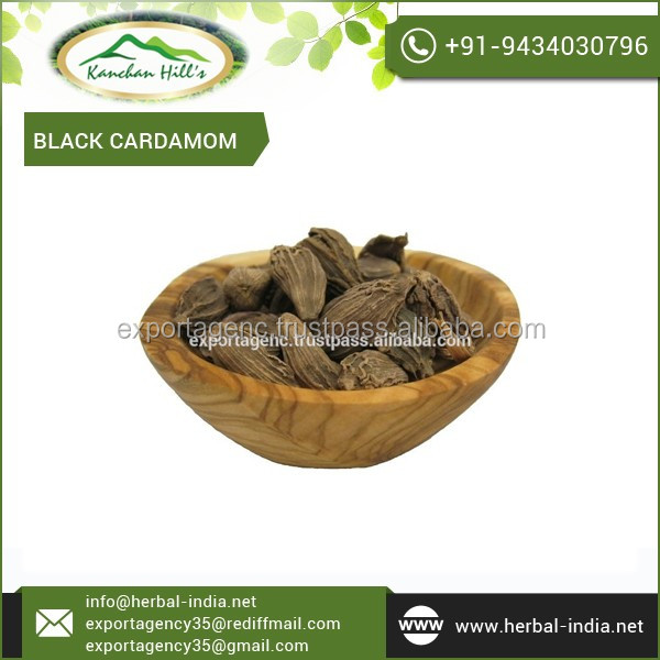 Dried Large Black Cardamom/ Cardamum by Reputed Exporter