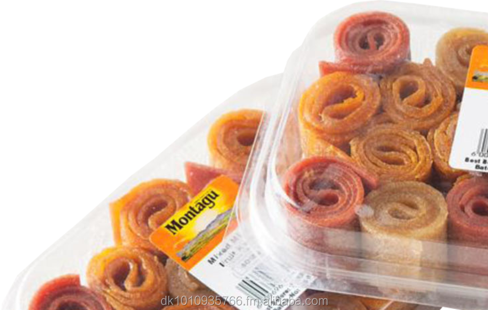 100% Dried Fruit Rolls - Guava, Peach, Apricot, Mango, Mied Berries