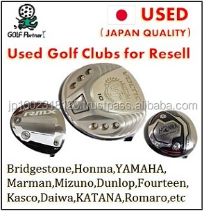Various types of and Cost-effective catalytic converter and Used golf club with good condition