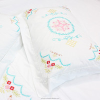 Wholesale Luxury Egyptian Cotton Bedding Set With Embroidery