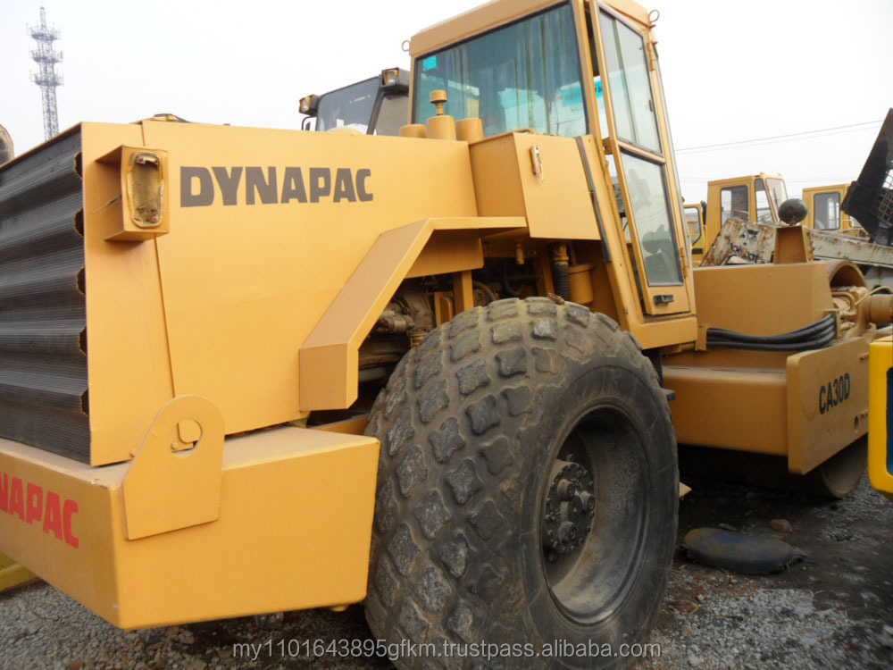 USED COMPACTOR SECOND HAND ROAD ROLLER DYNAPAC CA30D COMPACTOR