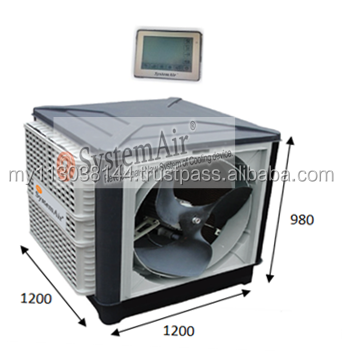 Industrial Air Cooling For 24 Hours Side Discharge 23 Series