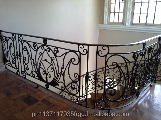 Decorative Wrought Iron Balcony Railings