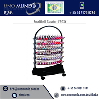 Finest Quality Raw Material Manicure Trolley Smaltbell Classic - EPOXY( Brown Epoxy Structure) with 6 bandejas