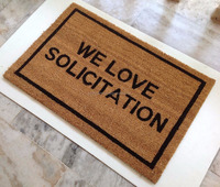 Outdoor Natural Eco Friendly Coir Door mats
