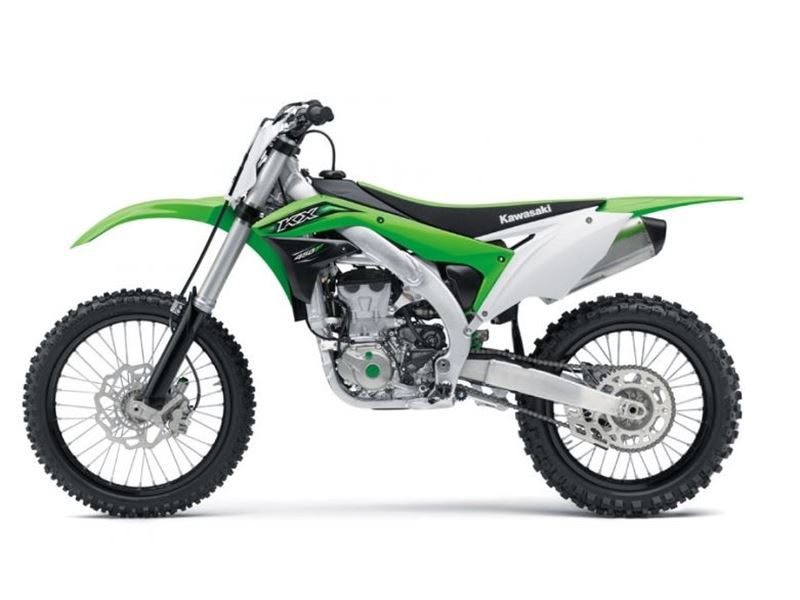 best-selling 2016 Kawasaki KX450F