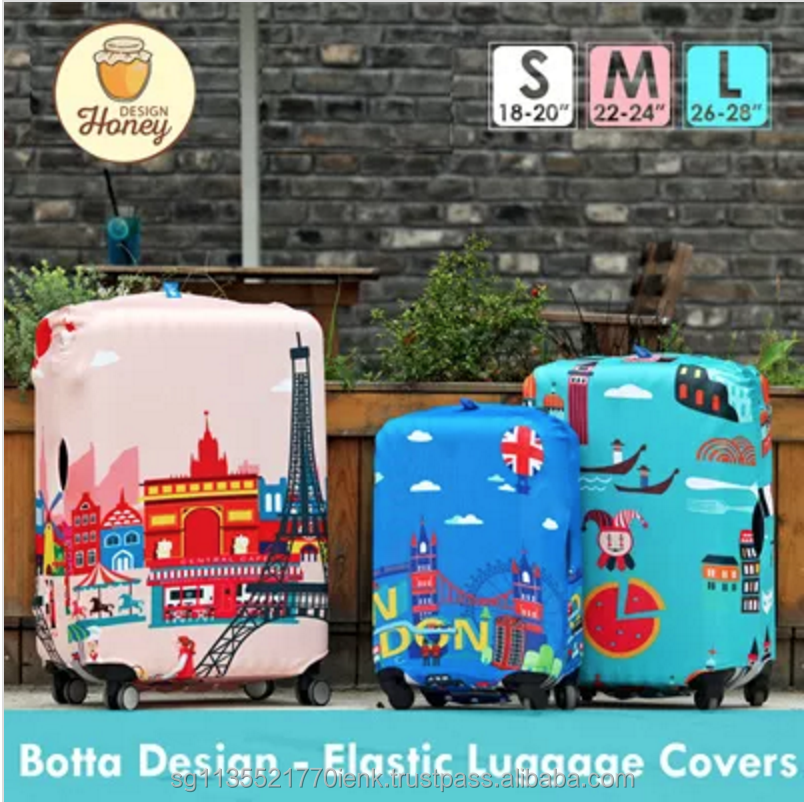 Botta Design Korean Style Elastic Luggage Cover-300GSM