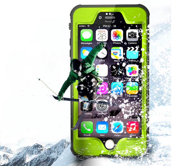 "SLIM WATERPROOF SHOCKPROOF DIRTPROOF MOBILE PHONE CASE COVER FOR APPLE IPHONE 6 6S 4.7"" PLUS 5.5"" Multicolors"