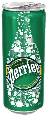 Perrier Sparkling Water Cans 24 x 330ml