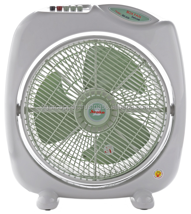 SENKO ELECTRIC BOX FAN BD850 (SENKO ELECTRIC BOX FAN BD850 (3 SPEEDS/AIRFLOW AREA IS CONTROLLED BY ELECTRIC MOTOR)