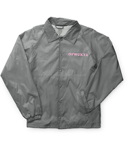 New Custom made High quality Custom Coach Jackets/customized coach jacket for men