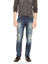 Wholesale Mens Cotton Trousers Men Embroidered Image Pictures Distressed Jeans Pants Male Complex Washed Distressed d Pants