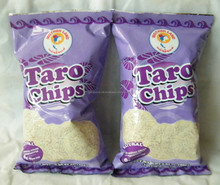 Taro Chips with Salt Thailand Snack