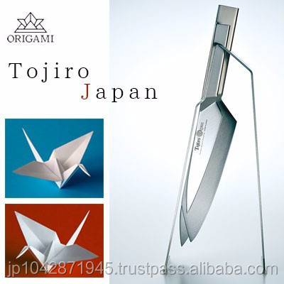 Inspired by Japanese ORIGAMI skills TOJIRO Arty shaped professional chef knife