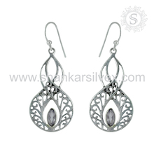 Savory ! 925 Sterling Silver Antique Jewelry, Online Silver Jewellery Earring, Silver Indian Jewelry Supplier