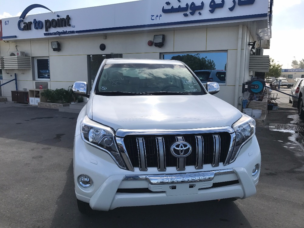 2017 Toyota Prado 2.7 VX A/T with Moon roof China Specs (SPARE TYRE BACK DOOR)