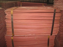 Best quality copper cathode 99.97%