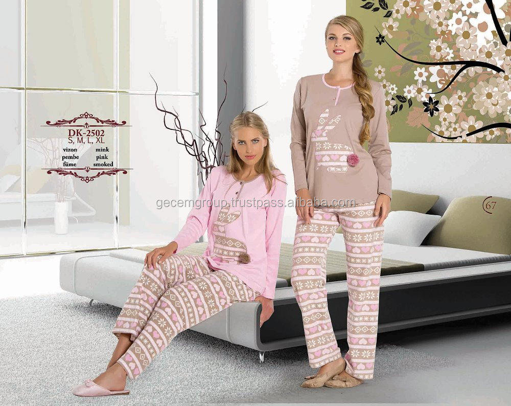 ladies cute pyjamas for winter