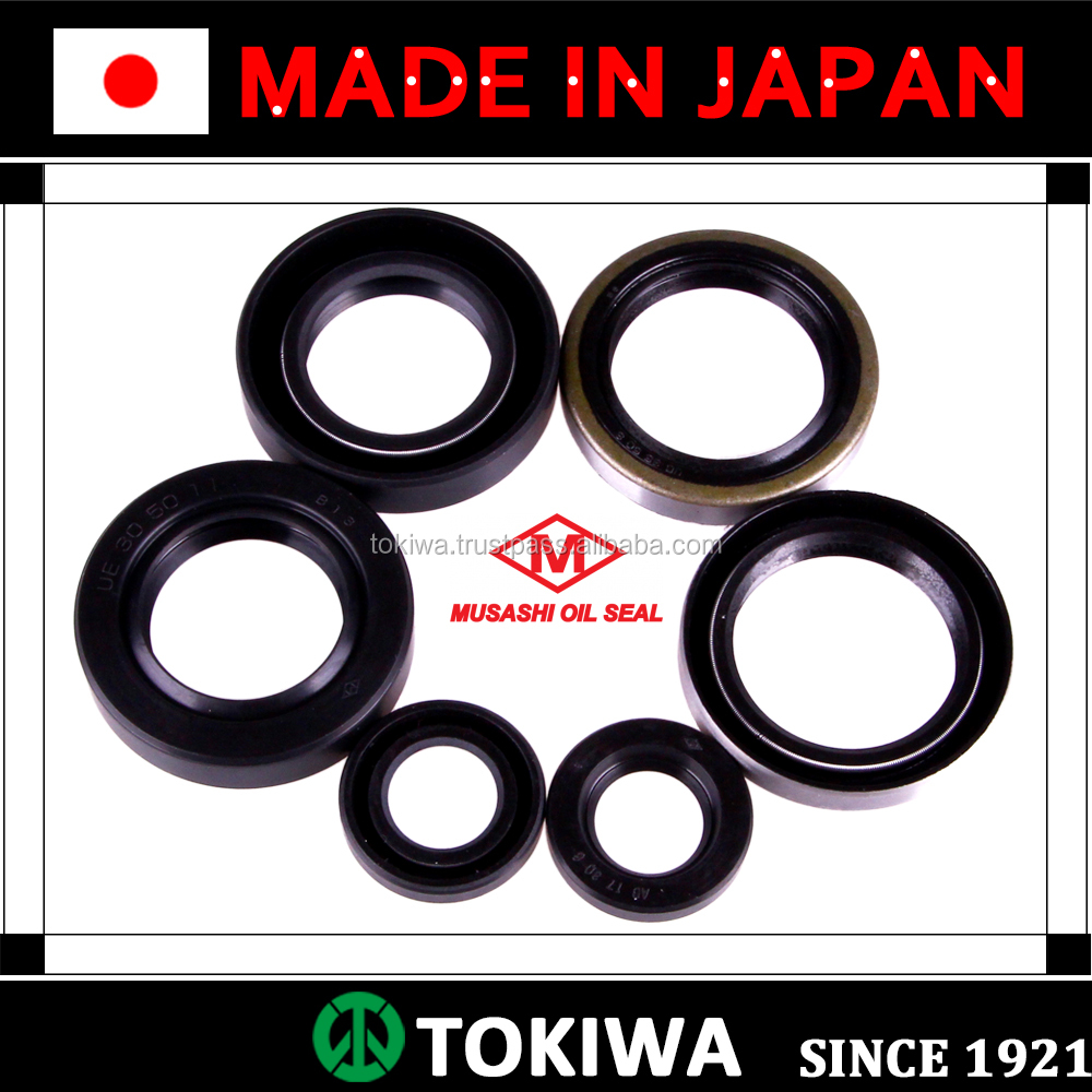 Musashi oil seal with superior performance and suitable for various uses. Made in Japan (motorcycle oil seal)
