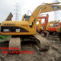 Clean crawler chassis Original construction equipment used caterpillar 320 excavator