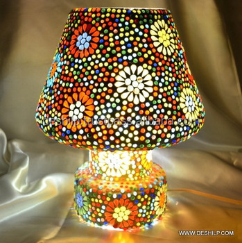 Mini Table Lamp Mason Jar Table Lamp Mercury Glass Table Lamp