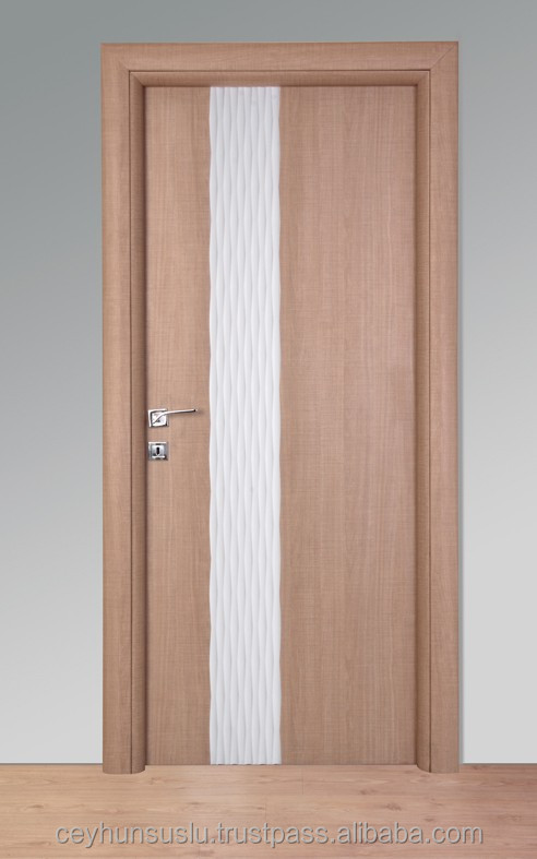 Laminate & Melamined Door with Lacquered Decorative Panel