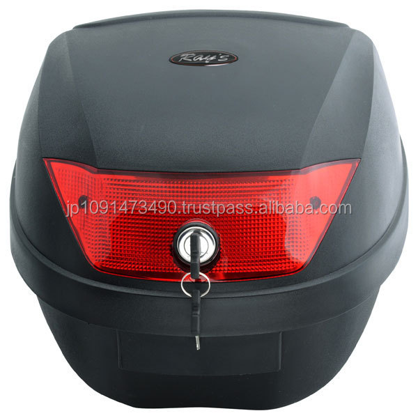 Various sizes of high quality accessories motorcycle top case with solid security