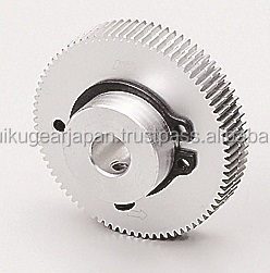 Anti backlash spur gear Module 1.0 Aluminium Made in Japan KG STOCK GEARS