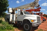 Altec D842ATR mounted on a 1996 Ford F800