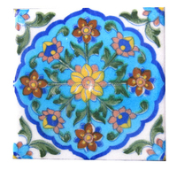 Beautifully Designed Jaipur Blue Pottery Tiles