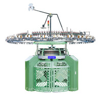 High Speed 4 Track Single Jersey Circular Knitting Machine
