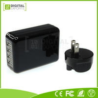 Low price 2 amp 4 port usb wall charger with high quality