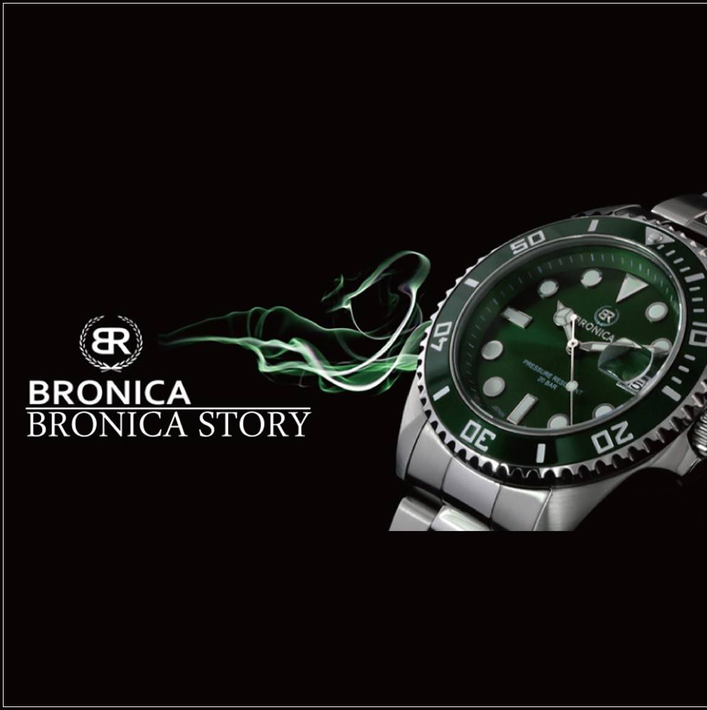 High Quality and Durable BRONICA Buckle Watch Watch for industrial use , small lot order available