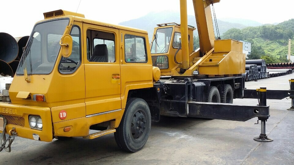 [ Winwin Used Machinery ] Truck crane SAMSUNG SC25H 1989yr For sale