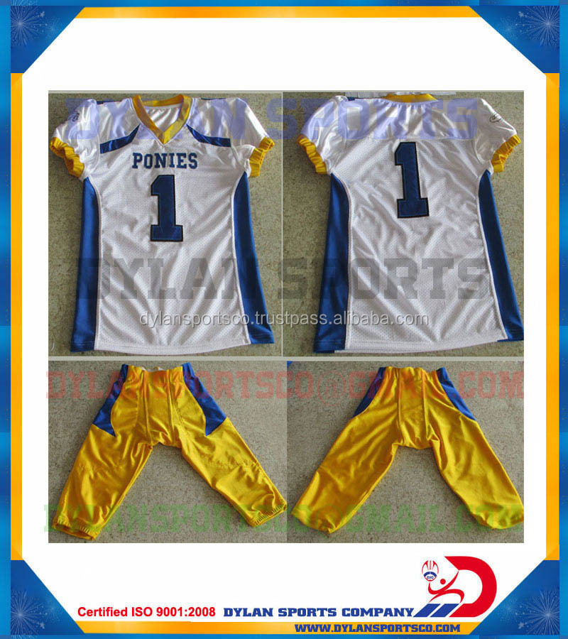 custom youth american custom football jersey pant for schools and college