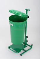 45L Mobile Pedal Operated General Waste Bin