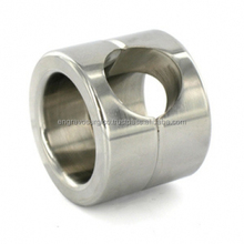 stainless steel cock ring with ball stretcher ball weight stretcher metal ball stretcher