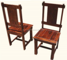 AKKU DESIGN WOODEN DINING CHAIRS , VINTAGE ROSEWOOD DINING CHAIR